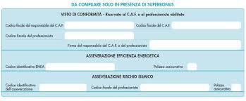 Visto di conformità superbonus: le check list dei commercialisti