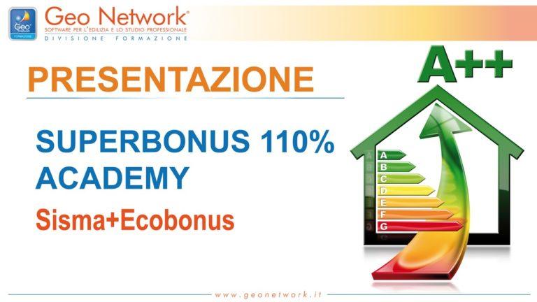 Superbonus 110% Academy Geo Network