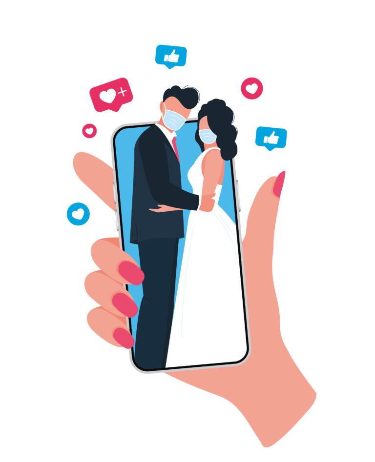 Quando la legge consente di sposarsi a distanza